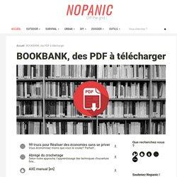 BOOKBANK, des PDF à télécharger
