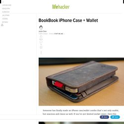 BookBook iPhone Case + Wallet