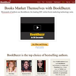 BookBuzzr-Free Online Book Marketing Technology for Authors