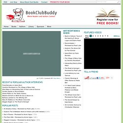 Book Club Buddy - Where authors list their books for the benefit of readers and book clubs.
