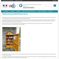 Bookcrossing et bibliothèques de rue