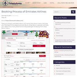 Booking Process of Emirates Airlines -