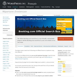 Booking.com Official Search Box
