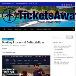 Booking Process of Delta Airlines -