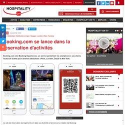 Booking.com se lance dans la réservation d'activités