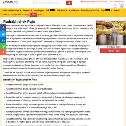 Rudrabhishek Mantra Vidhi Benefits