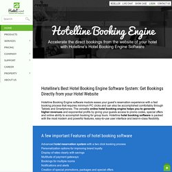 Hotel Booking Engine, Payment Gateway Software for Hotel - Hotelline.biz