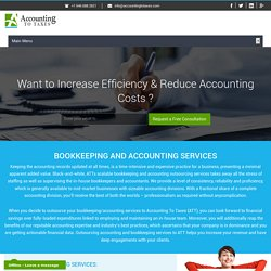 Bookkeeping - Accounting and financing