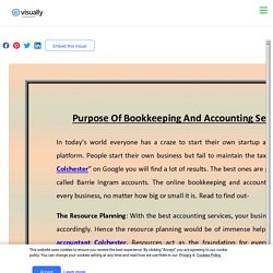 Purpose Of Bookkeeping And Accounting Services In Colchester