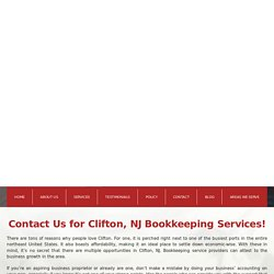 Bookkeeping and Tax Preparation Service Clifton NJ