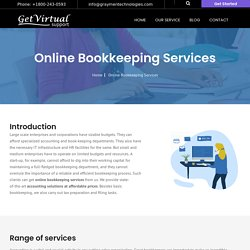 Virtual Bookkeeping Services India