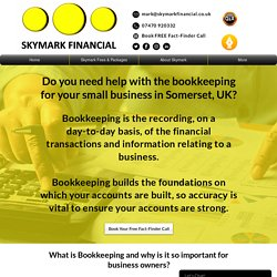 Bookkeeping for small business in UK