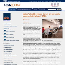 Nation's first bookless library on university campus is thriving at UTSA