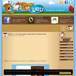 Booklet - Un plugin JQuery pour créer vos EBooks web
