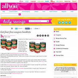 Get four free coupon booklets | Daily Savings From All You Magazine