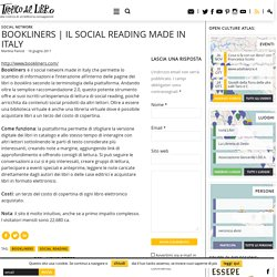il social reading made in Italy