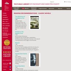 Booklists - Classic Novels