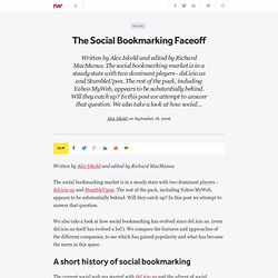 The Social Bookmarking Faceoff