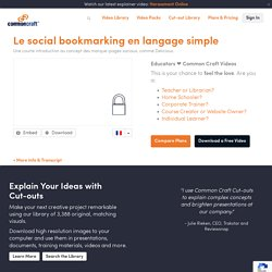 Le social bookmarking en langage simple Explained by Common Craft (VIDEO)