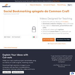 Social Bookmarking spiegato da Common Craft Explained by Common Craft