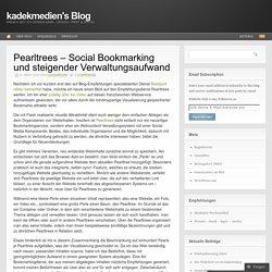 Pearltrees – Social Bookmarking und steigender Verwaltungsaufwand