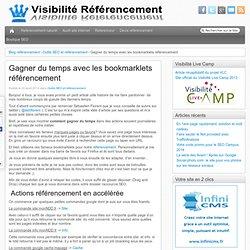 Bookmarklet SEO: prenez les raccourcis pour votre référencement