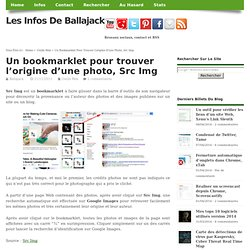 Un bookmarklet pour trouver l'origine d'une photo, Src Img