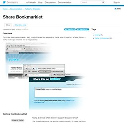 Share Bookmarklet