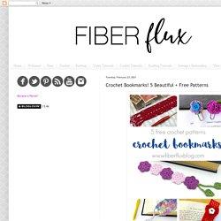 Crochet Bookmarks! 5 Beautiful + Free Patterns