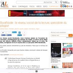 BookNode : le réseau social de la lecture, spécialiste du plagiat