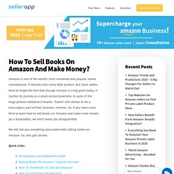 How To Sell Books On Amazon And Make Money? - 2020 [UPDATED]