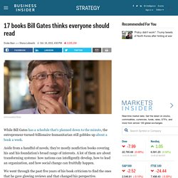 17 Books Everyone Should Read, According to Bill Gates