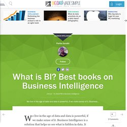 What is BI? Best books on Business Intelligence
