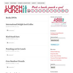 Books/DVDs | Lunch It, Punch It