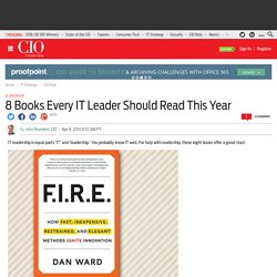 8 Books Every IT Leader Should Read This Year