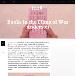 Books in the Films of Wes Anderson – Fubiz Media