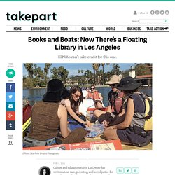 Books and Boats: Now There's a Floating Library in Los Angeles