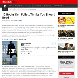 10 Books Ken Follett Thinks You Should Read
