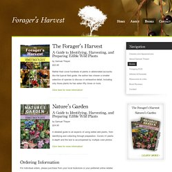 Books « Forager's Harvest