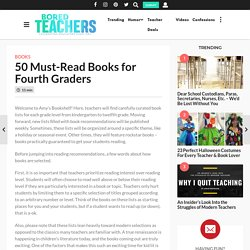 50 Must-Read Books for Fourth Graders