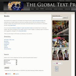 Books | Global Text Project