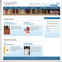 Books Hachette Book Group