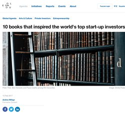 10 books that inspired the world's top start-up investors