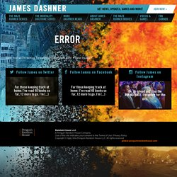Books | James Dashner