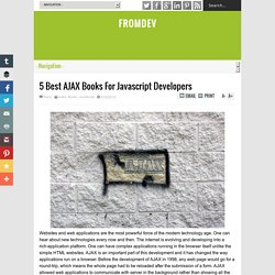 5 Best AJAX Books For Javascript Developers