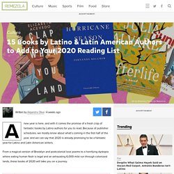 Books by Latino Authors to Add to Your 2020 Reading List