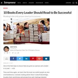 10 Books Every Leader Should Read to Be Successful