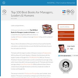 Top 100 Best Books for Managers, Leaders & Humans - NOOP.NL