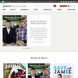 Jamie Oliver | Books & TV | cook with jamie