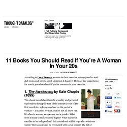11 Books You Should Read If You're A Woman In Your 20s